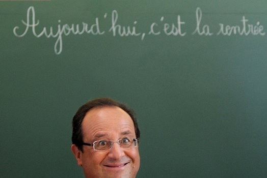 Hollande perde la faccia